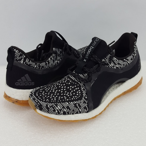 Adidas zapatos Boost X Negro Blanco corriendo Zapatillas de entrenamiento poshmark